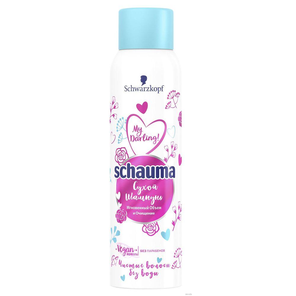 Купить Schauma Сухой шампунь для нормальных волос Мгновенный объём и Очищение 150мл