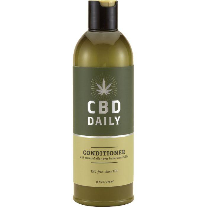 Купить CBD Лечебный Кондиционер с Коноплей для волос и кожи головы для ежедневного применения 473мл, CBD Daily