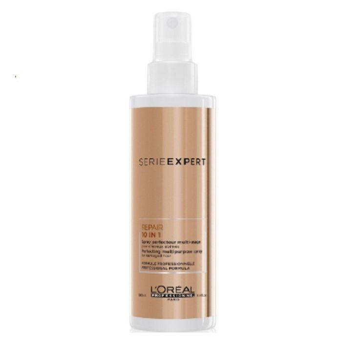 Купить Loreal Absolut Repair Многофункциональный спрей для восстановления волос 10в1 190мл, Loreal Professionnel