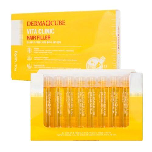 Купить FarmStay Витаминизирующий филлер для волос с витаминами 10 ампул по 13мл, Farm Stay