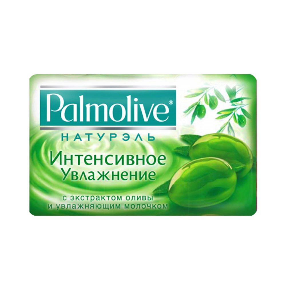 Palmolive Мыло Натурэль Интенсивное увлажнение с экстрактом оливы и увлажняющим молочком 90г фото