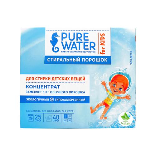 Pure Water Стиральный порошок для детского белья 800 мл.