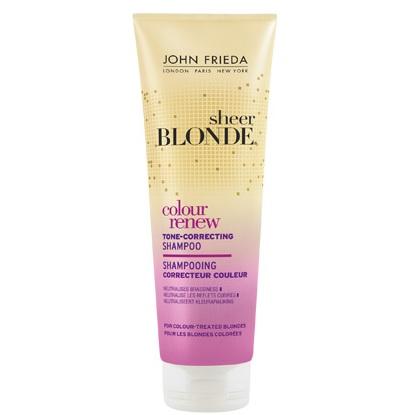 Купить со скидкой John Frieda Sheer Blonde СOLOUR RENEW Шампунь для восстановления и поддержания оттенка осветленных в