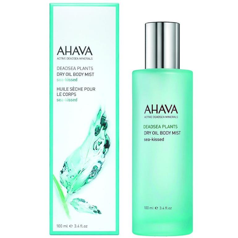 заказать AHAVA косметика Ahava Deadsea Plants Сухое масло для тела sea kissed100мл