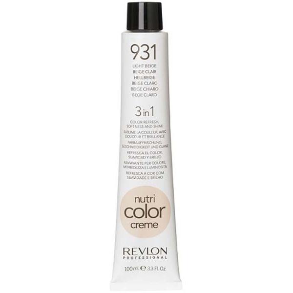 Купить Revlon Краска для волос 3 в 1 Nutri Color Creme 931 светло-бежевый 100 мл