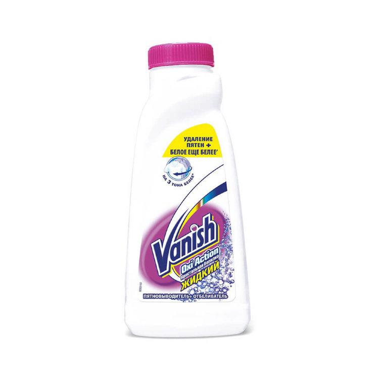 Ваниш (vanish) oxi action пятновыводитель кристальная