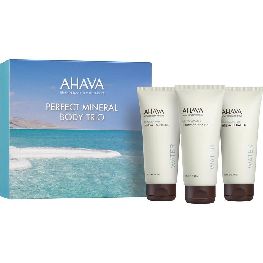 Ахава (Ahava) Deadsea Water Набор body trio (крем для рук 100 мл+гель для душа 100мл+крем для тела 100мл)