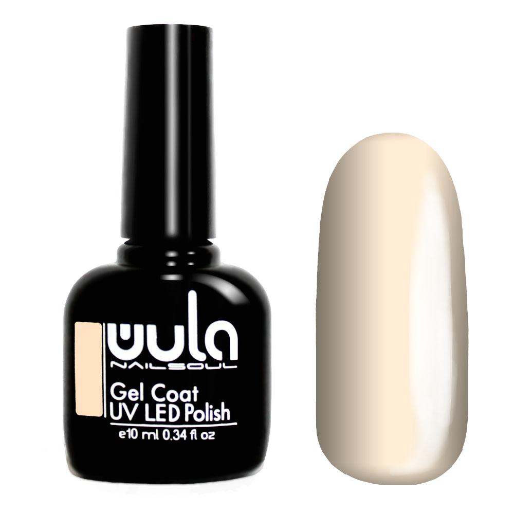 Wula nailsoul гель лак 10мл тон 408 топленое молоко фото