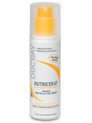 Дюкрэ (ducray) нутрицерат защитный спрей для очень сухих и поврежденных волос 75 мл
