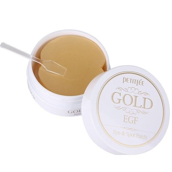 Купить Petitfee патчи для век гидрогелевые Gold & EGF Eye&Spot Patch 90шт