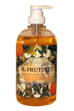 Купить Нести Данте мыло жидкое Il Frutteto Оливк.масло и мандарин 500мл, Nesti Dante