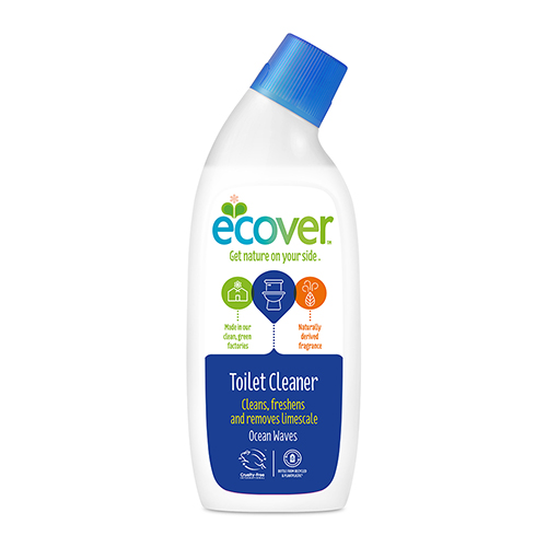 Эковер средство для чистки сантехники океанская свежесть 750мл