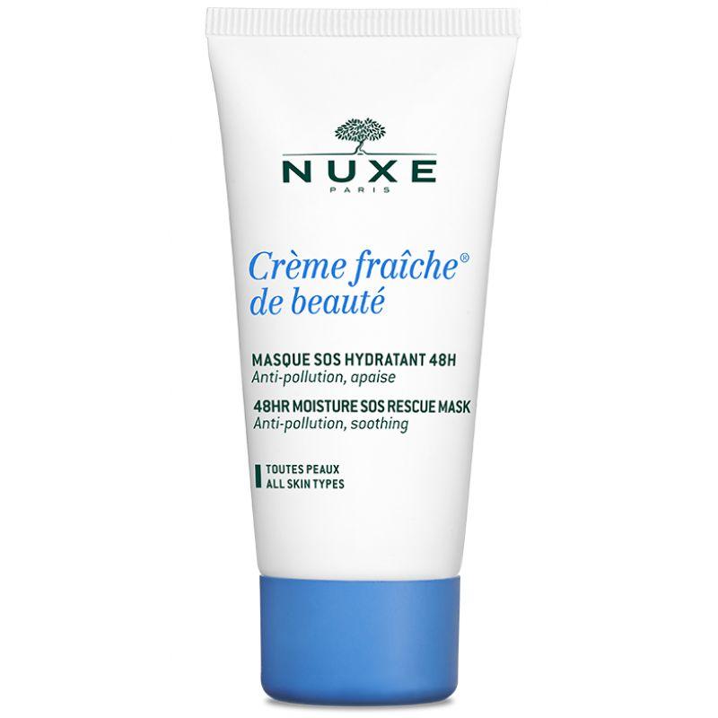 Купить со скидкой NUXE Creme Fraiche de Beaute Интенсивная увлажняющая маска 48ч 50 мл