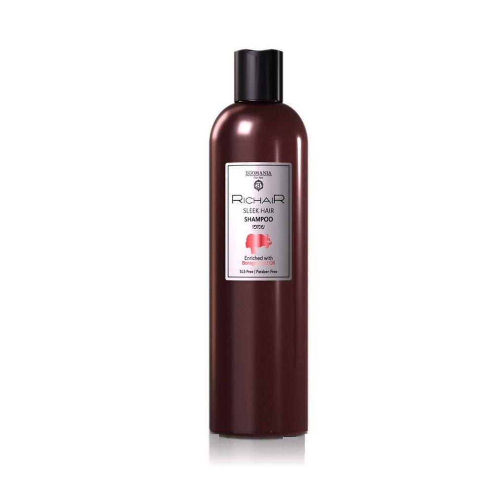 Купить Egomania Шампунь для гладкости и блеска волос RICHAIR 400мл