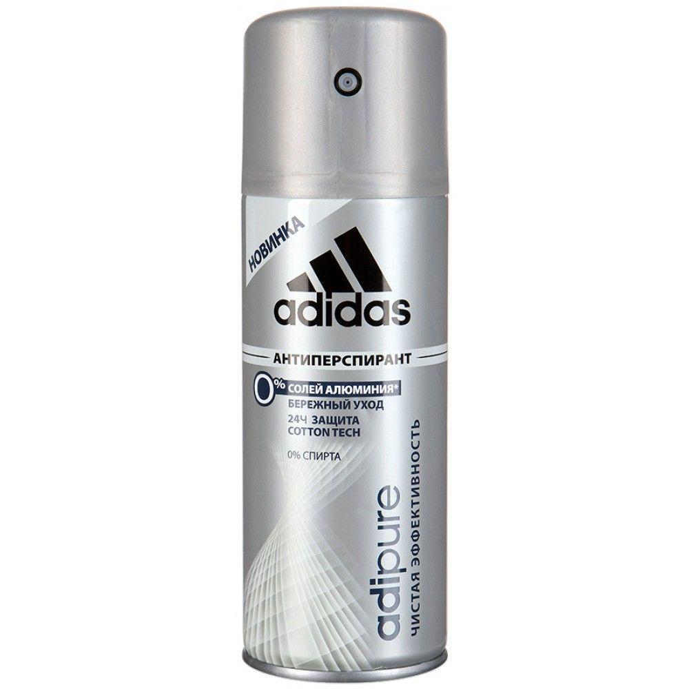 Адидас/Adidas Adipure 24ч антиперспирант спрей для мужчин 150 мл от Лаборатория Здоровья и Красоты