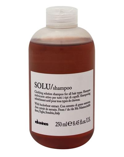 Купить Давинес (Davines) SOLU/shampoo Активно освежающий шампунь для глубокого очищения волос 250мл