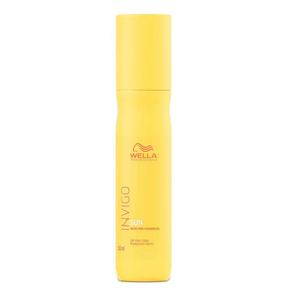 Купить Wella Invigo Sun спрей для защиты окрашенных волос от УФ-лучей с провитамином В5 150мл