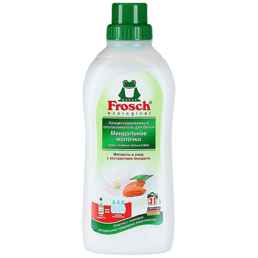 Купить Frosch концентрированный ополаскиватель для белья Миндальное молочко 750мл