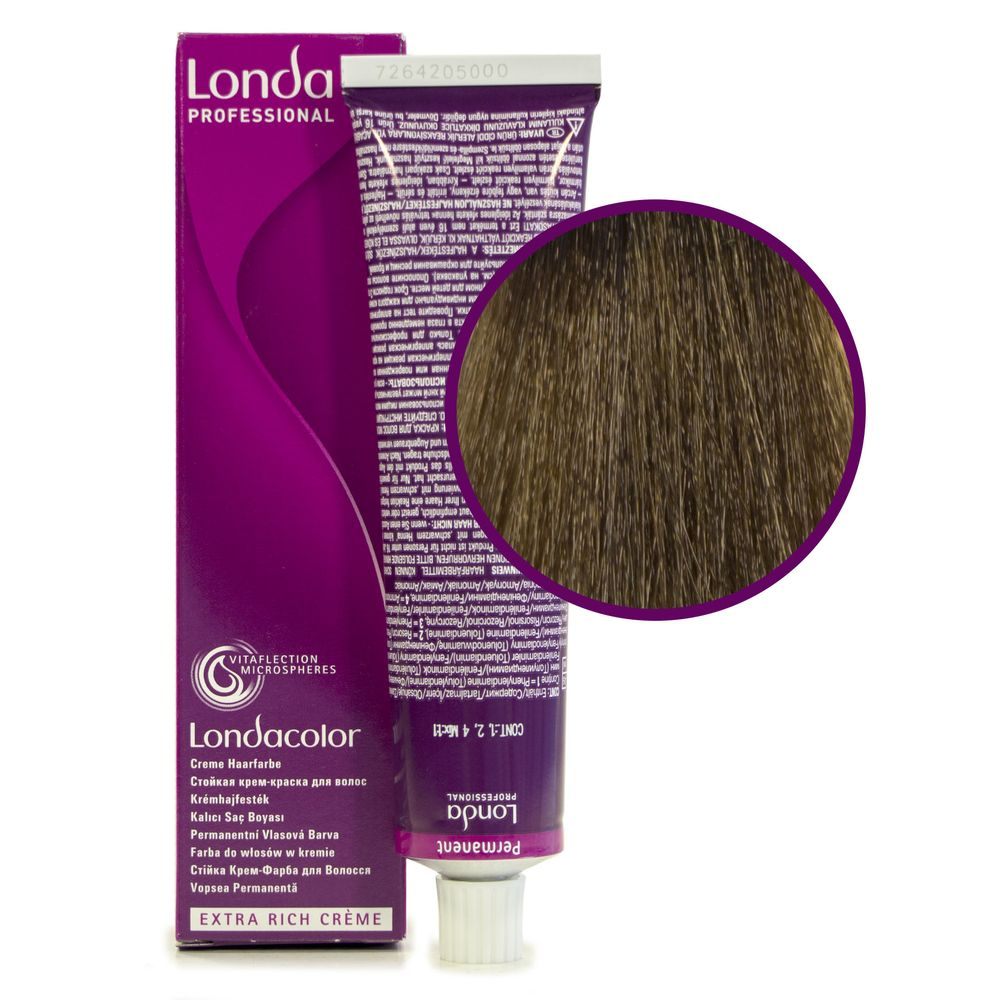 Londa Color 7/1 блонд пепельный стойкая крем-краска 60мл LONDA PROFESSIONAL