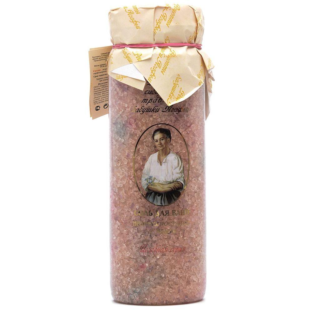Купить Рецепты бабушки Агафьи Соль для ванн противопростудная медовая 800г