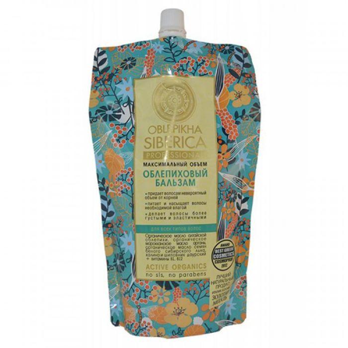 Купить Натура сиберика OBLEPIKHA Бальзам для всех типов волос 500 ml, Natura Siberica