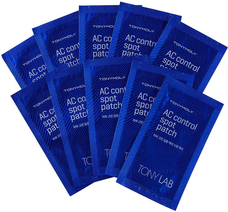 Тони Моли/Tony Moly Патчи Tony Lab AC Control Spot Patch 12 шт