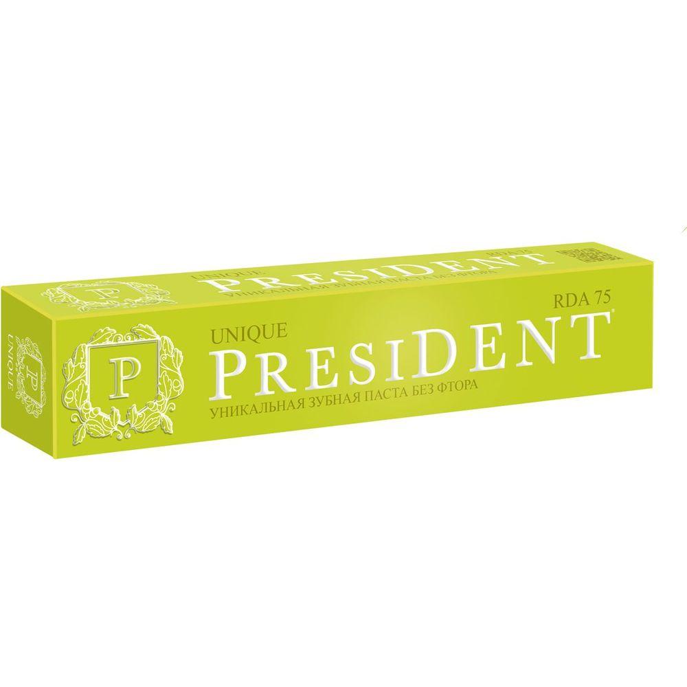 President Unique зубная паста 75мл  - Купить