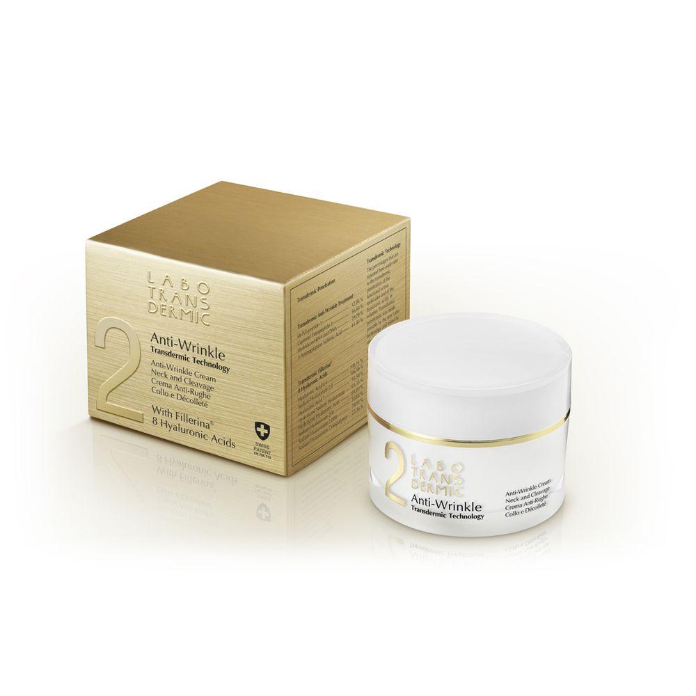 Купить Labo Трансдермик 2 Anti Wrinkle крем протих морщин для шеи и зоны декольте 50мл