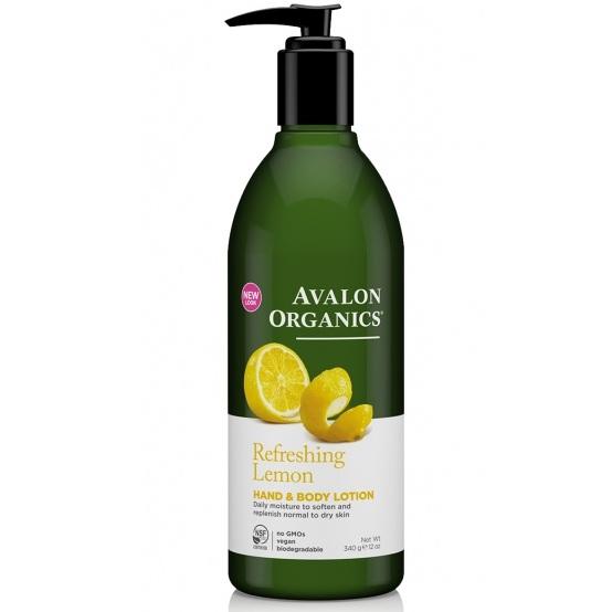 Avalon Organics Лосьон для рук и тела с маслом лимона Lemon LTN 340г