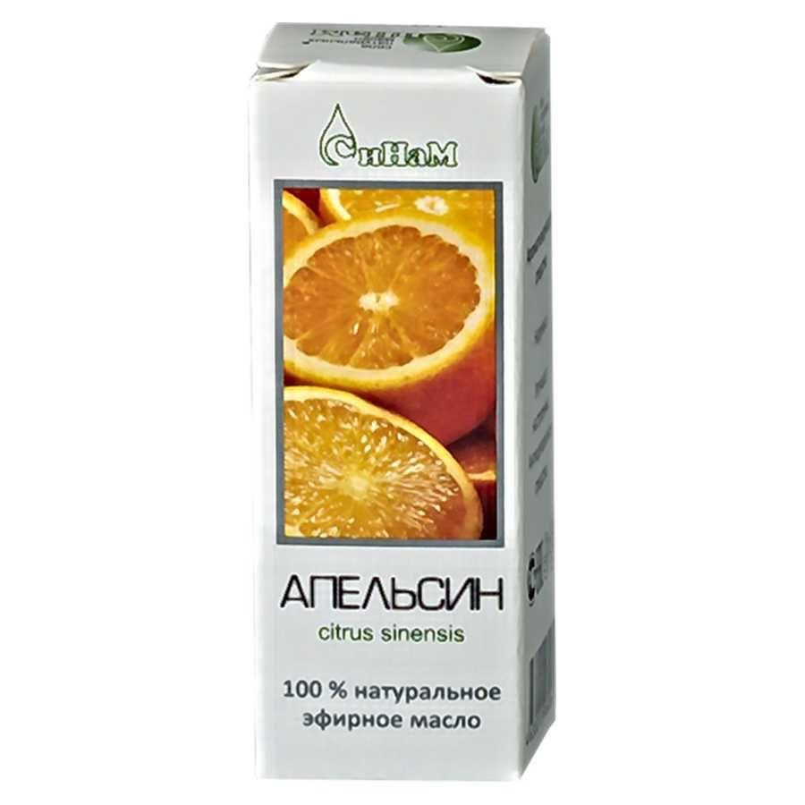 Масло апельсин эфирное 10мл Синам фото
