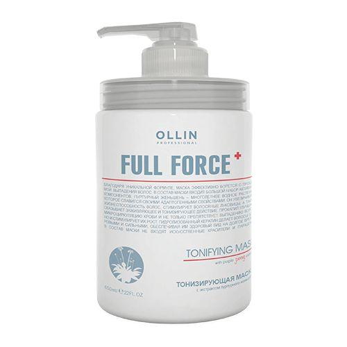 Ollin Professional FULL FORCE Тонизирующая маска с экстрактом пурпурного женьшеня 650мл фото