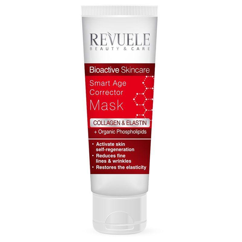 Купить Revuele Bioactive skincare Collagen&Elastin Умная маска-корректор возрастных изменений для лица 80мл