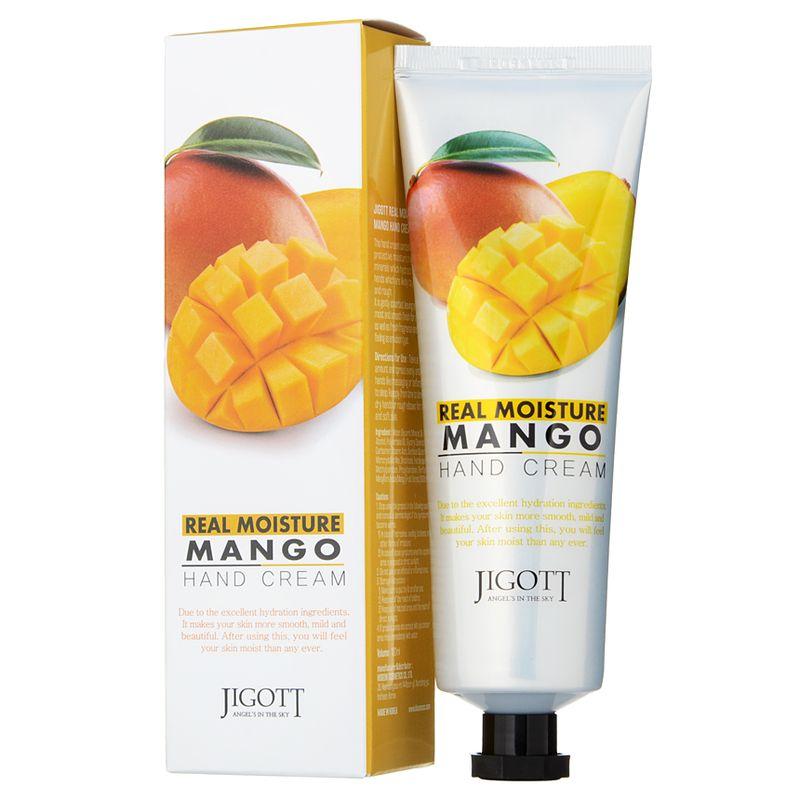 jigott-real-moisture-крем-для-рук-с-экстрактом-манго-100мл