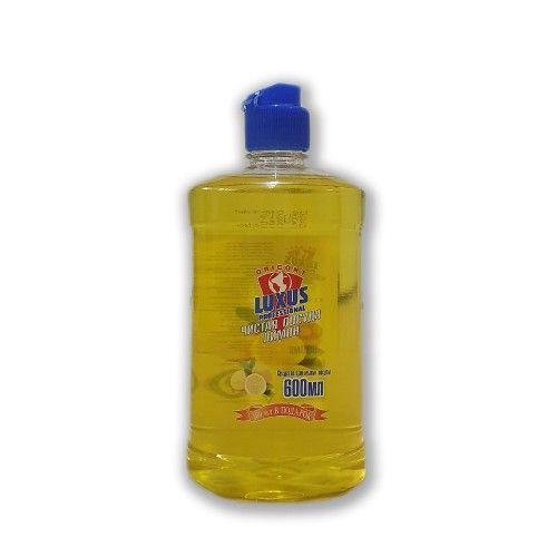 Купить Luxus Средство для мытья посуды концентрат Чистая посуда Лимон 600мл, Luxus Professional