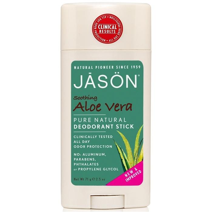 Купить Jason Твердый дезодорант Алоэ Вера 71 г