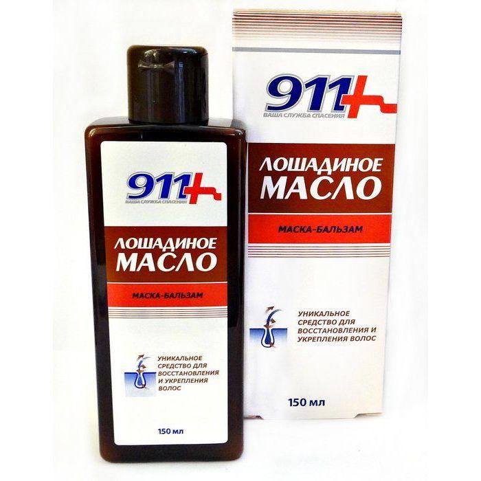 Купить 911 Лошадиное масло маска-бальзам для всех типов волос 150 мл