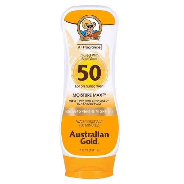 Купить Australian Gold SPF Солнцезащитный Лосьон для загара SPF50 Lotion 237 мл