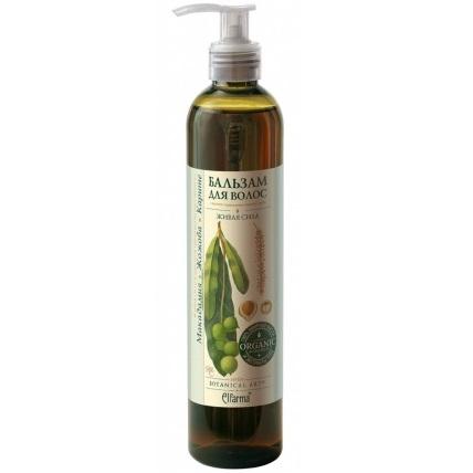 Купить Эльфарма бальзам для волос макадамия-жожоба-каритэ 350мл дозатор, Elfarma