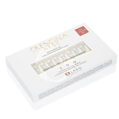 Купить Лабо Кресцина 500 Лосьон для стимуляции роста волос у женщин 3, 5 мл N40 флаконов, Crescina