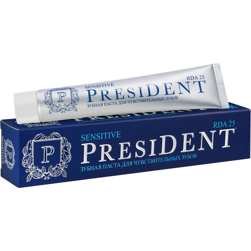 Купить President Sensitive зубная паста 75мл