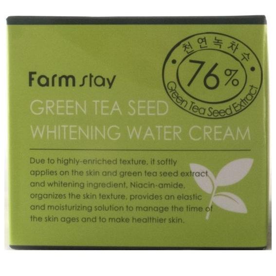 Купить FarmStay Увлажняющий осветляющий крем с семенами зеленого чая 100мл, Farm Stay