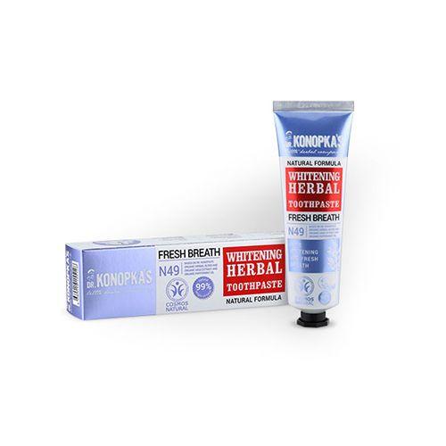 Купить Dr. Konopka's Зубная паста травяная Отбеливающая 75мл, Dr. Konopka's