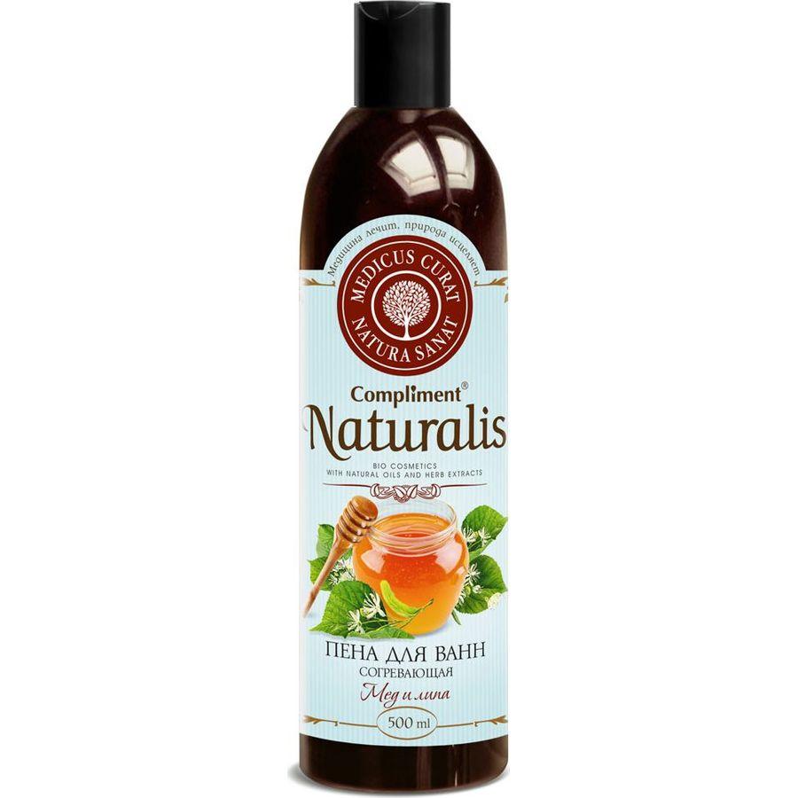Купить Compliment Naturalis пена для ванн Согревающая 500мл