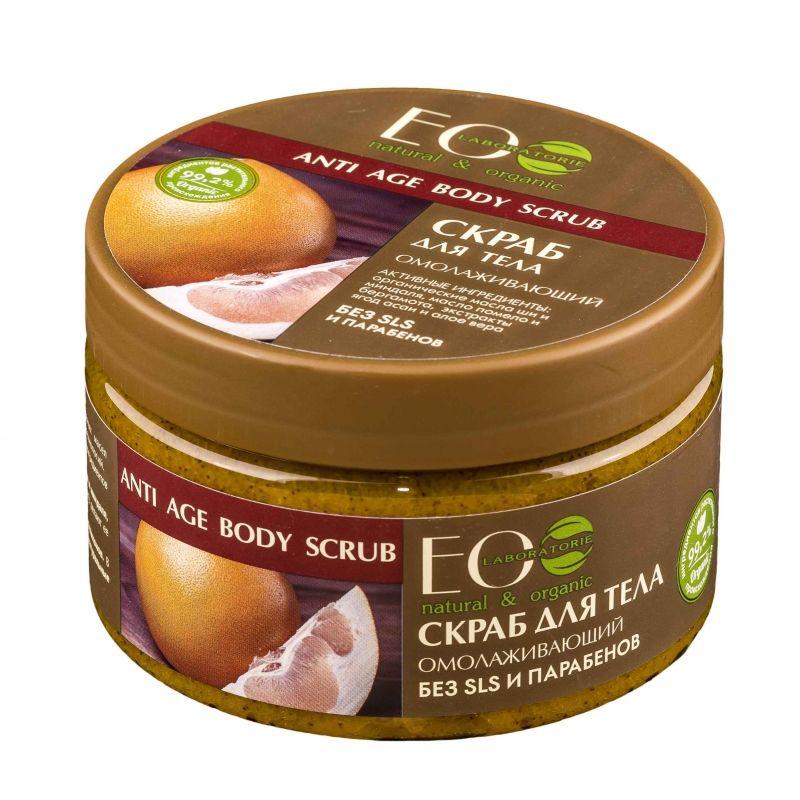 ECOLAB Скраб-сахар для тела Омолаживающий 250 g