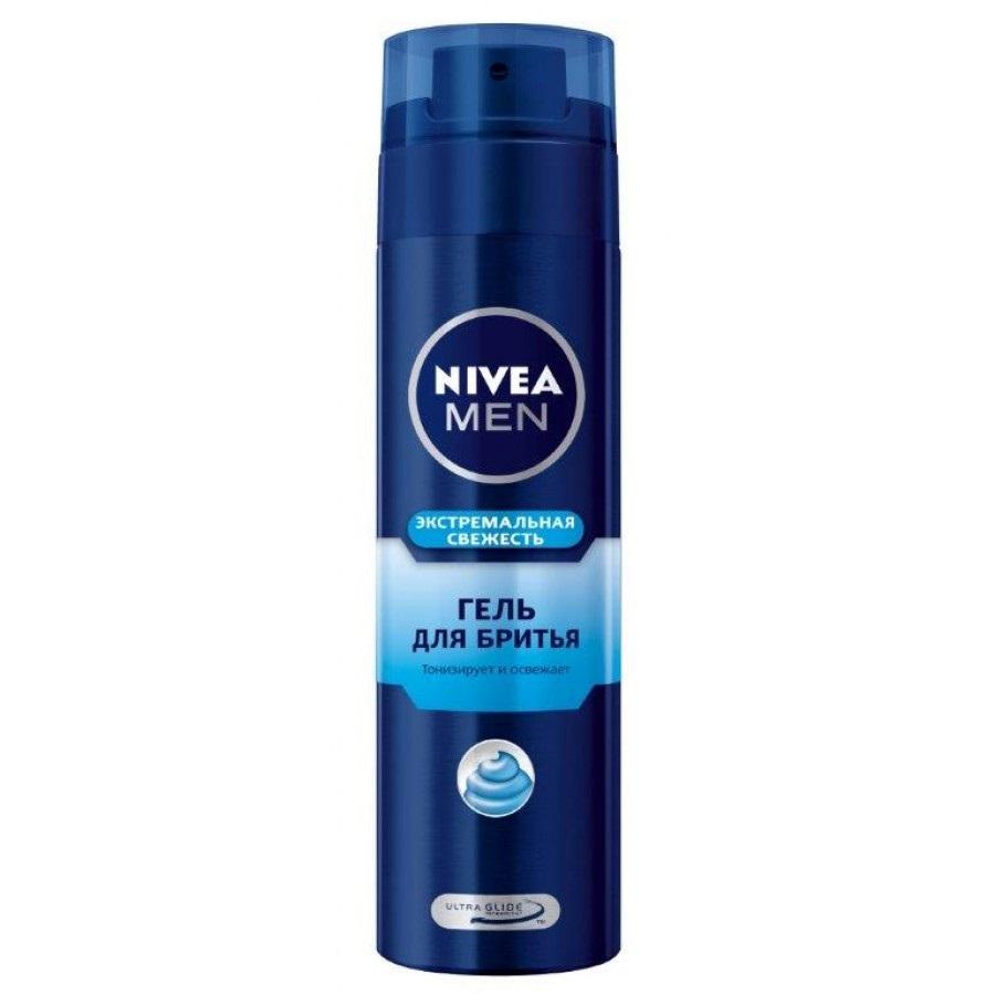 Купить Нивея для мужчин гель для бритья Экстремальная свежесть 200мл, Nivea