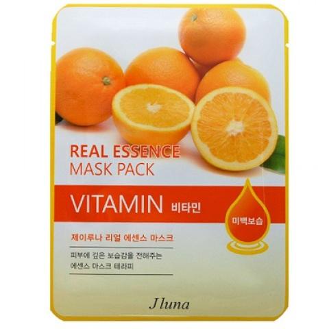 Juno Тканевая маска с витаминами 25 мл  - Купить