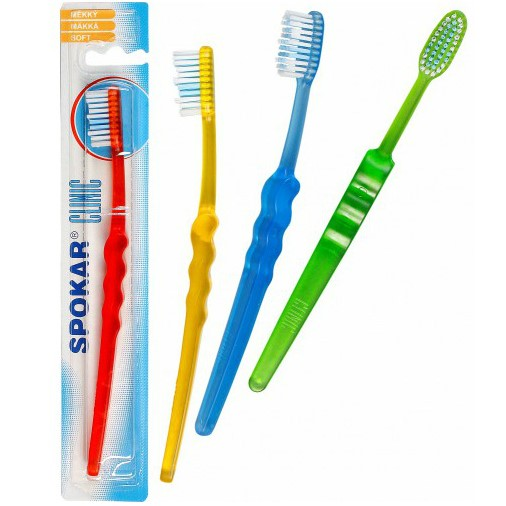 Spokar Clinic soft  Зубная щетка мягкая