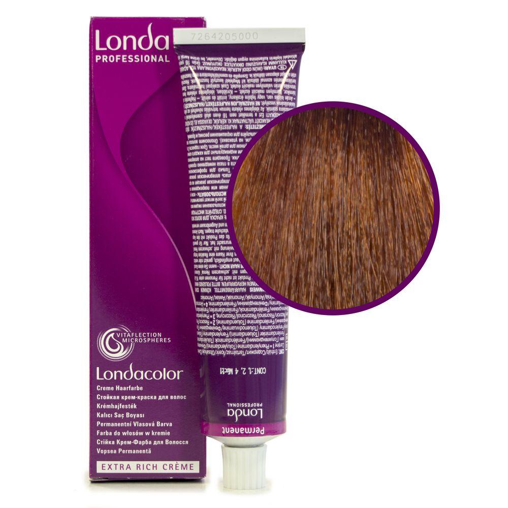 Londa Color 7/4 блонд медный стойкая крем-краска 60мл LONDA PROFESSIONAL