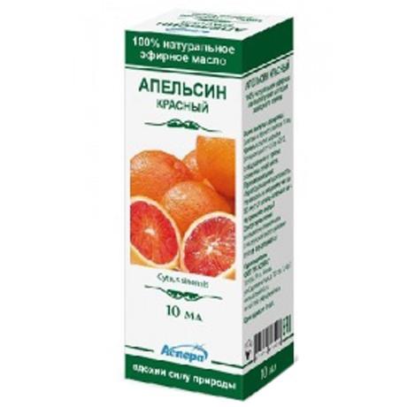 Аспера масло апельсина красного эфирное 10мл