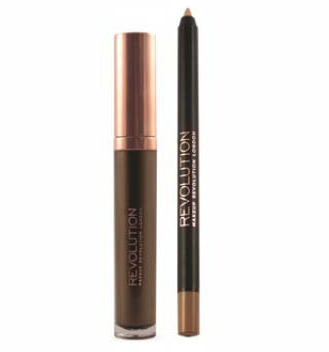 Makeup Revolution Набор для макияжа губ Retro Luxe Kits Metallic